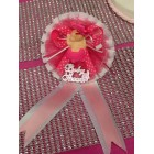 Pink Baby Shower Badge or Corsage Favor Gift